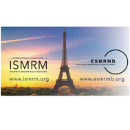 Joint Annual Meeting ISMRM-ESMRMB 2018