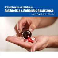 Antibiotics 2017: 3rd World Congress & Exhibition on Antibiotics and Antibiotic Resistance