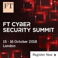 FT Cybersecurity Summit Europe