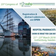 23rd Congress of the EAHP