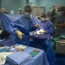 Nurse during surgery