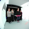 Nurses evaluate the bathroom design in a virtual environment
