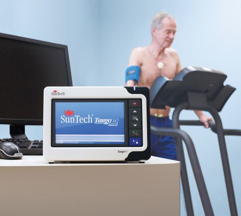 New Automated BP Monitor for Stress Tests from SunTech Medical - Tango® M2