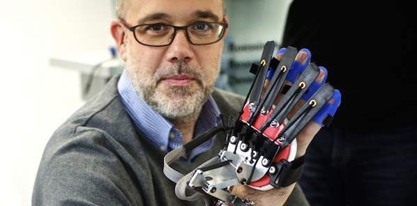 Rehabilitation Robotics: Glove Aids Patients Impaired By Stroke