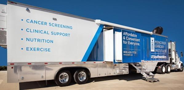Mobile Cancer Centre Takes Care Services to Survivors