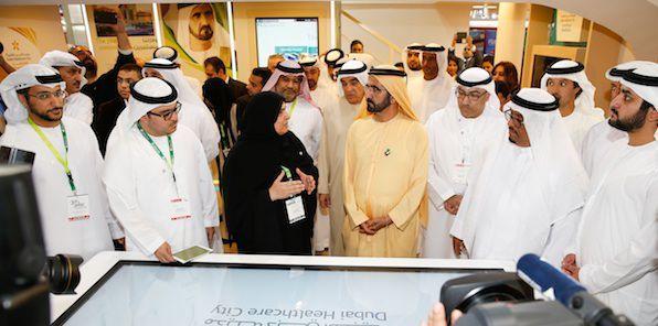 #ArabHealth 2015 Inaugurated by HH Sheikh Mohammed Bin Rashid Al Maktoum