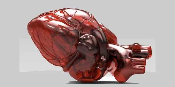#euroecho: 3D Printed Heart = Fewer Heart Surgeries