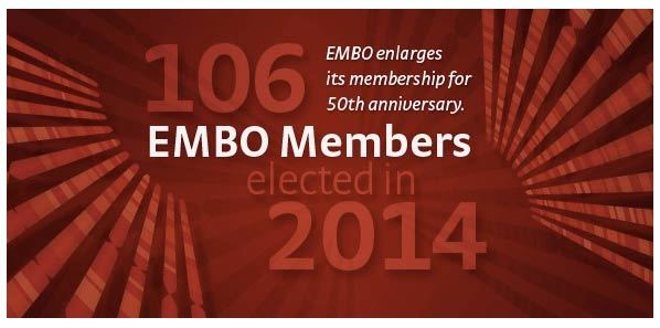 EMBO Enlarges Its Membership for 50th Anniversary