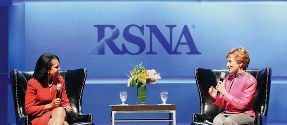 RSNA 2013: Condoleeza Rice: Mobilising Human Potential in the 21st Century