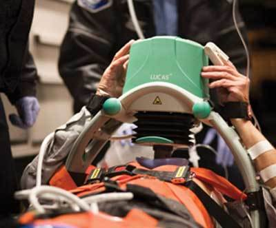 Mechanical Chest Compressions for Cardiac Arrest Just as Good as Manual