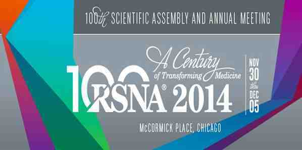RSNA 2014: Honoured Lectures and Annual Orations