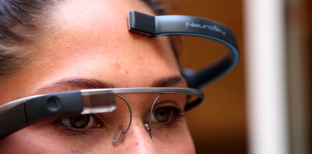 App Uses Brainwaves To Direct Google Glass