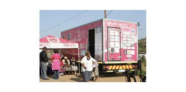 SA Mobile Mammo Unit 'PinkDrive' Deploys RamSoft's PACS