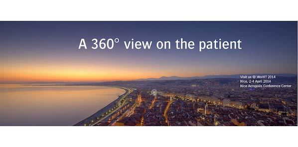 WoHIT 2014: Diamond Sponsor Agfa HealthCare Offers '360° View of The Patient'