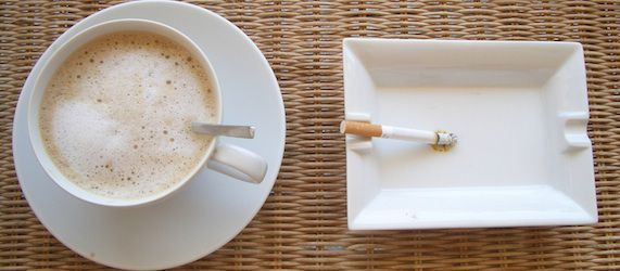 Coffee and Cigarette Consumption Not All Bad News