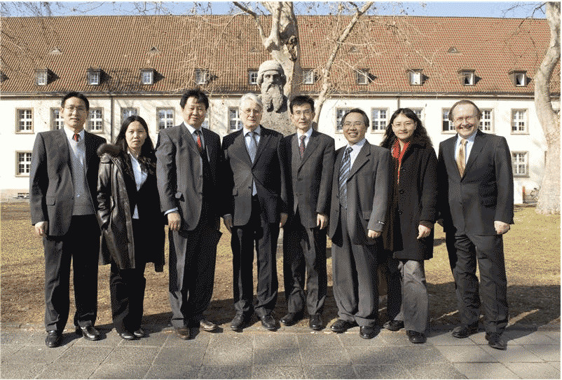 Chinese-German Center for Bio-Inspired Materials Launched at the Mainz University Medical Center