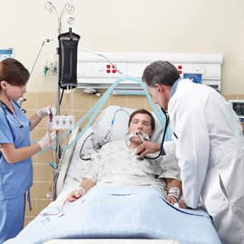Clinicians in ICU