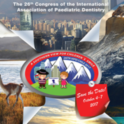 26th Congress of theInternational Association of Paediatric Dentistry
