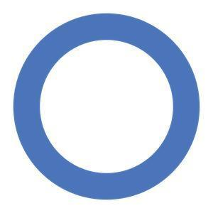 Type 2 Diabetes Blue Circle