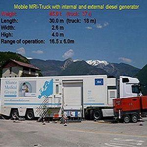 mobile MRI truck