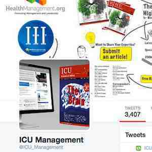 Screenshot from ICU Management's Twitter page