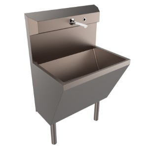 Surgical Scrub Sink Combats Contamination with Copper