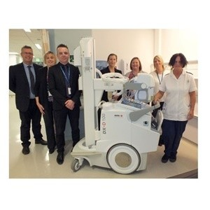 East Lancashire Hospitals NHS Trust Chooses Agfa HealthCare Mobile DR Unit