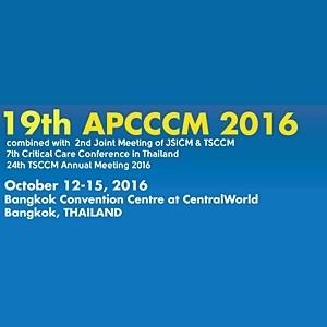 19th Asia Pacific Conference on Critical Care Medicine 2016-APCCCM 2016