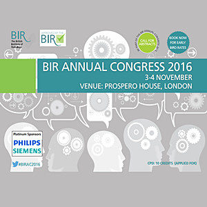 BIR Annual Congress 2016
