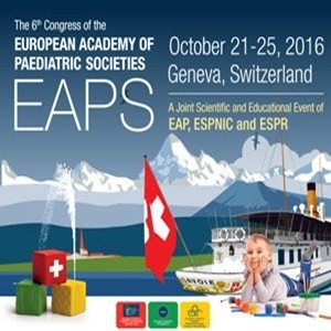 EAPS 2016: European Academy of Paediatric Societies