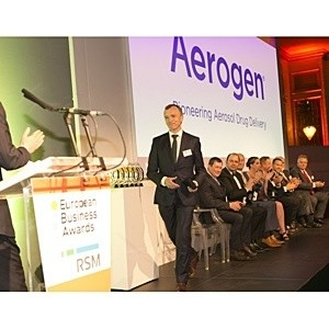 Aerogen CEO, John Power, was named the European Entrepreneur of the Year at the RSM Awards