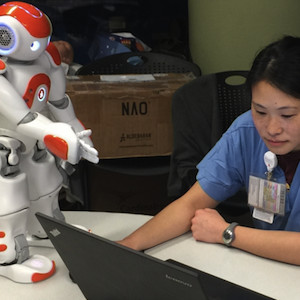 Robots Help Hospital Schedules