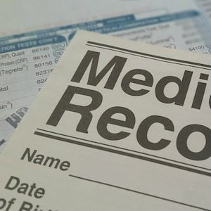 Medical record, credit Pixabay