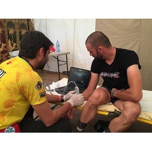 FUJIFILM Sonosite keeps the wheels in motion at the Titan Desert race