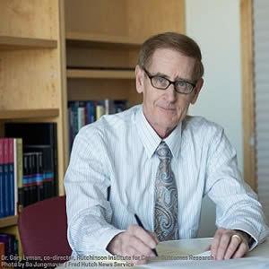 Study co-author Dr. Gary Lyman