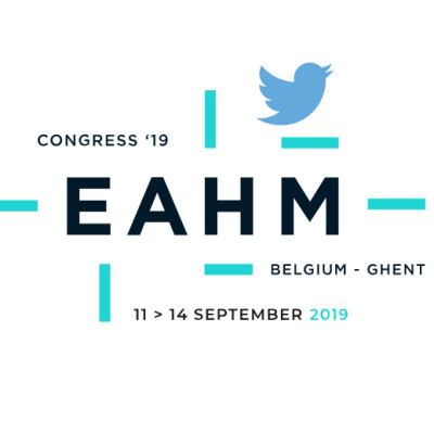 Speech and Tweets at EAHM 2019, Ghent!